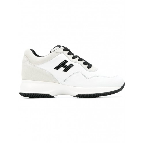 Hogan Low Top Trainers - 0001 white - Womens Sneakers 13273795