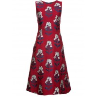 Carolina Herrera Floral Dress - CARO RED MULTI - Womens Cocktail Dresses NYDMTEED